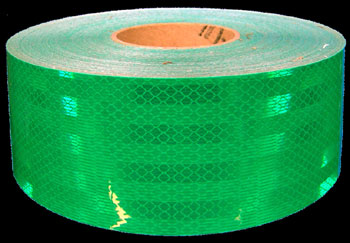 3M USCG FP-37 Green Reflective Tape