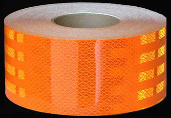 3M USCGFP-34 Orange Reflective Tape