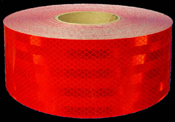 3M USCG FP-32 Red Reflective Tape