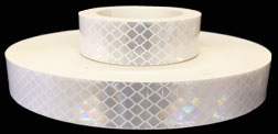 3M 973 Flexible Prismatic Reflective Tape, 1-inch