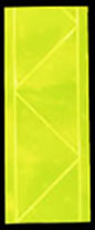 3M Fluorescent Yellow Sew-on Reflective Vinyl Tape