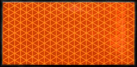 High Intensity Orange Reflective Tape