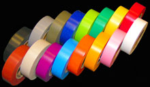 Vinyl Color-Coding Harness Tape in 16 Colors
