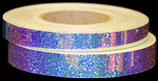 Blue Galaxy Holographic Sequins