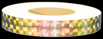 Holographic Golden Opal Tape