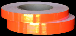 Tropical Tangerine Tango Color Changing Hoop Tape