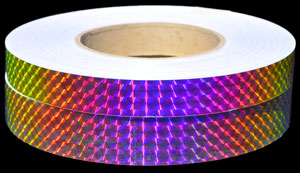 Holographic Cateye Opal Tape