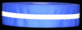Reflective Electric Blue Trim With White Reflecive Stripe