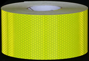 Reflexite V98 Conformable Flourescent Lime Reflective Tape