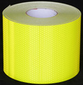 Reflexite V98 Conformable Fluorescent Lime Reflective Fire Truck Tape