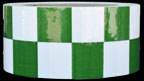 Green & White Checkered Tape