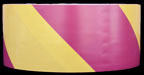 Magenta & Yellow Hazard Tape
