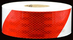 Reflective Red-White Barricade Tape
