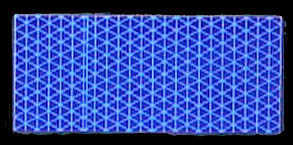 Reflexite V98 Conformable Reflective Tape - Blue