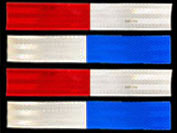 Red White Blue Conspicuity Tape