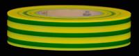 Yellow & Green Striped Electrical Tape