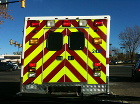 Emergency Vehicle Reflective Tape