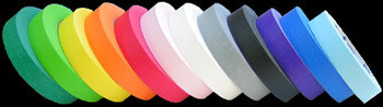 12 colors of PRO-46 masking tape (1-in. x 60-yd)