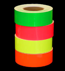 Fluorescent Vinyl Tapes